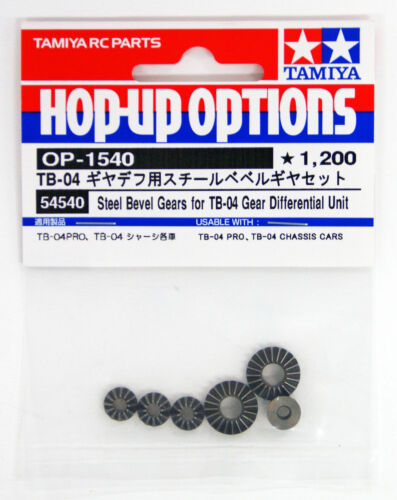 TB04 Gear Diff Unit Steel Bevel Gears OP1540 Tamiya 54540