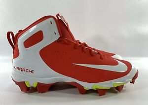 e90224a957a52 Men s Nike Alpha Huarache Keystone Mid Mens Baseball Cleat Red White ...
