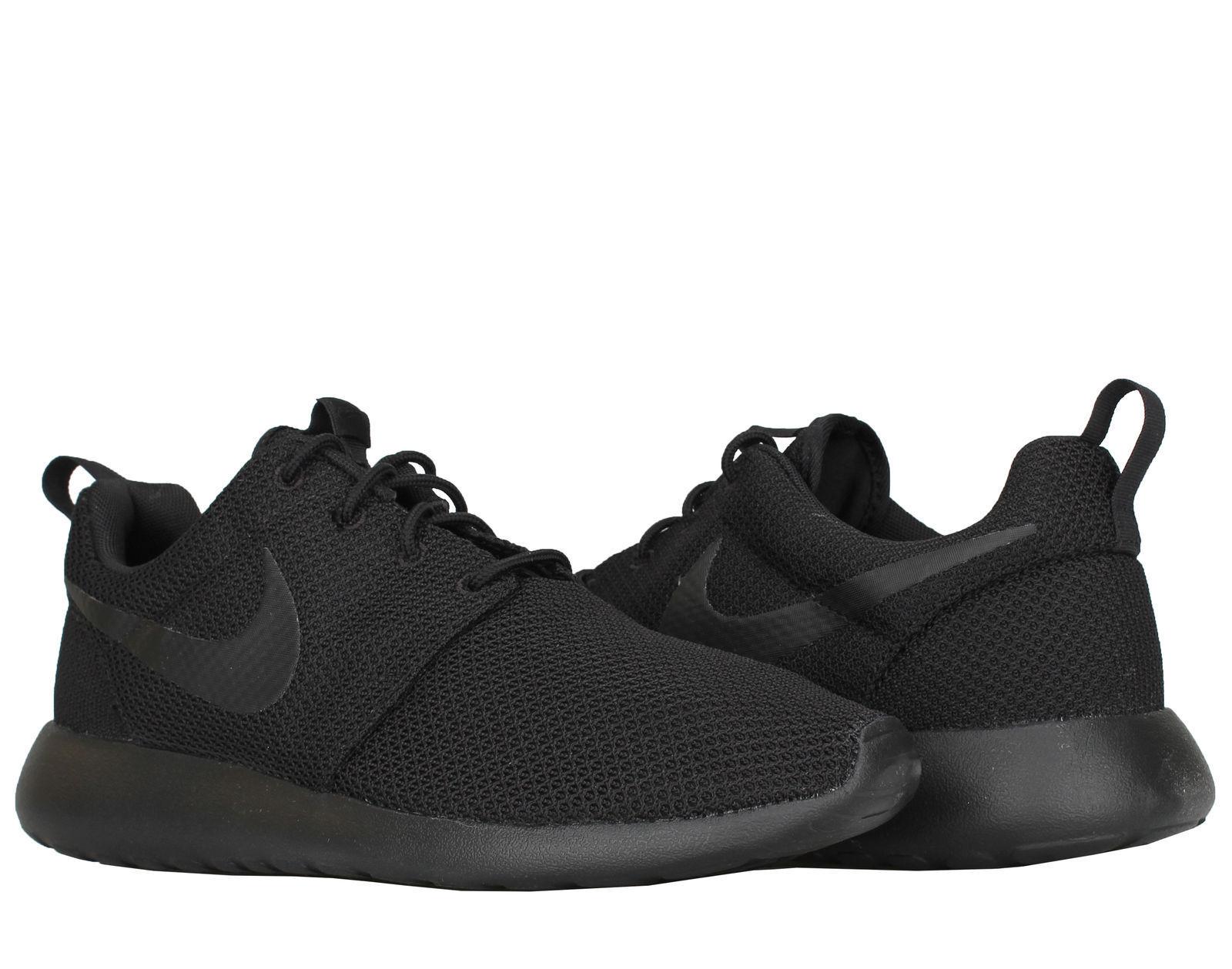 Los hombres de Nike - Roshe uno running comodo zapatos Negro / negro comodo running e88cea