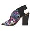 CLARKS-Ladies-Block-Heel-Sandal-Floral-Print-Fabric-Summer-Holiday-Bargain-UK-6D thumbnail 2