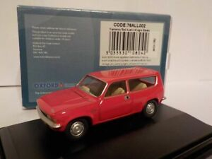 Model-Car-Austin-Allegro-Red-1-76-New