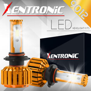 XENTRONIC LED HID Headlight Conversion kit 9012 6000K for 2016-2016 Fiat 500X