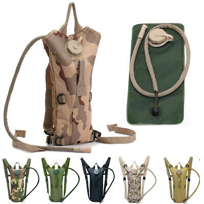 3L Water Bladder Bag Hydration Backpack Pack For Hiking Camping Cycling Outdoor