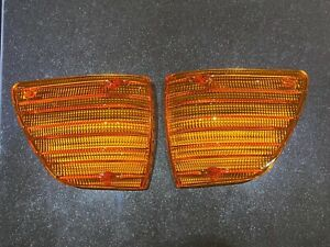 MERCEDES SL, SLC W107 2X Blinker Blinkerglas EU LINKS + RECHTS R107 C107 mit E1