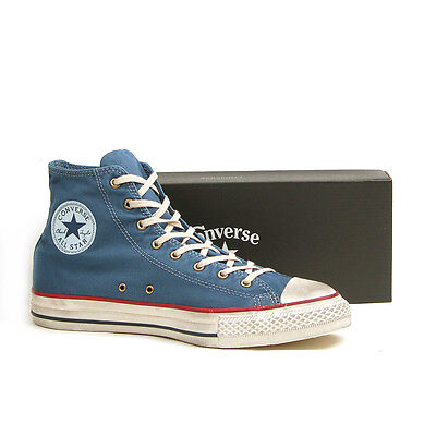 CONVERSE CHUCK TAYLOR ALL STAR WASHED CANVAS HI STELLAR BLUE 136711C