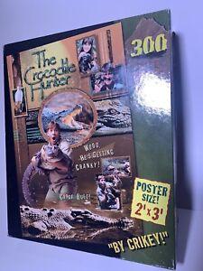 The-Crocodile-Hunter-Steve-Irwin-300-Piece-Puzzle-Poster-Size