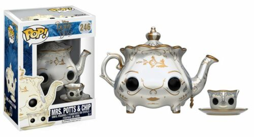 Film Movies 246 Mrs Potts /& Chip Funko POP Beauty And The Beast