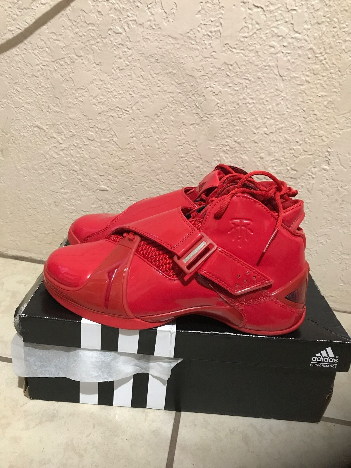 DS RARE China release T ONLY ADIDAS 5 V T release MAC Tmac MCGRADY Red/Red SZ 9 men b526e6
