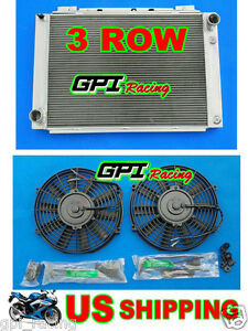 FAN 1964 1965 1966 Ford Thunderbird 64 65 66 NEW GPI aluminum radiator