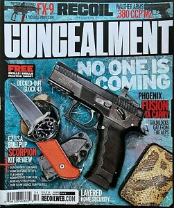 NO ONE IS COMING  DEFEND YOURSELF Fall 2020 CONCEALMENT From RECOIL Magazine NEW