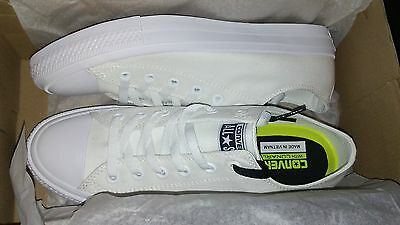 WHITE Lunarlon ox canvas Shoe