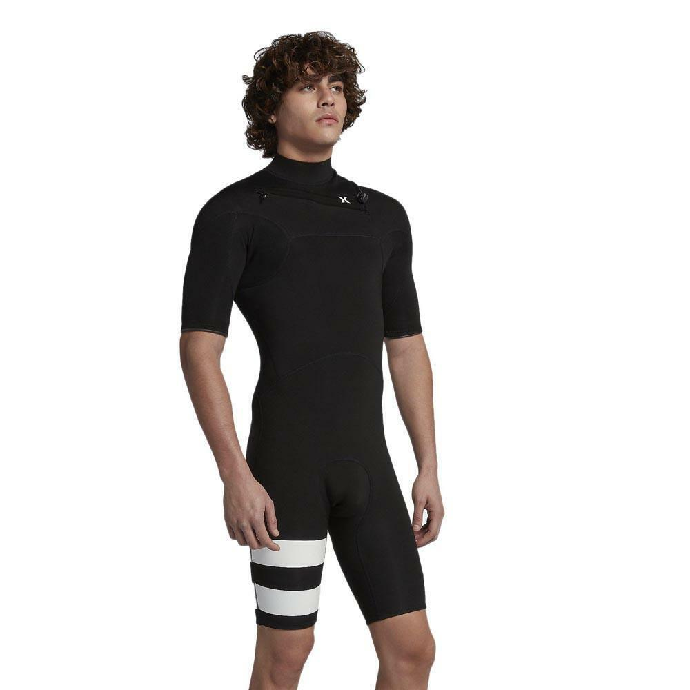 Hurley Big Kids' (Boy's) Fusion Advantage Short Sleeve Surf Spring Wetsuit