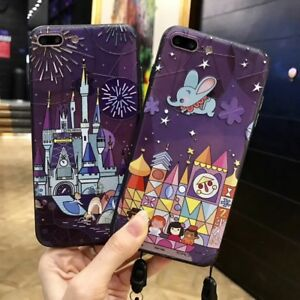 cinderella castle dumbo 3d relief cartoon movie case cover for