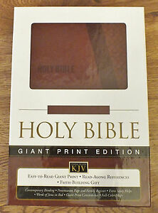 King James Version Bible Large Print Red Letter Soft Cover