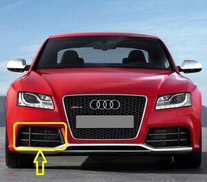 Genuine-Audi-RS5-2010-2016-Parachoques-Delantero-Parrilla-Inferior-Derecha-8T0807682FT94