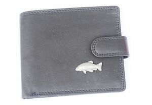 Tench-Fish-Paw-Leather-Wallet-BLACK-or-Brown-Fishing-Gift-368