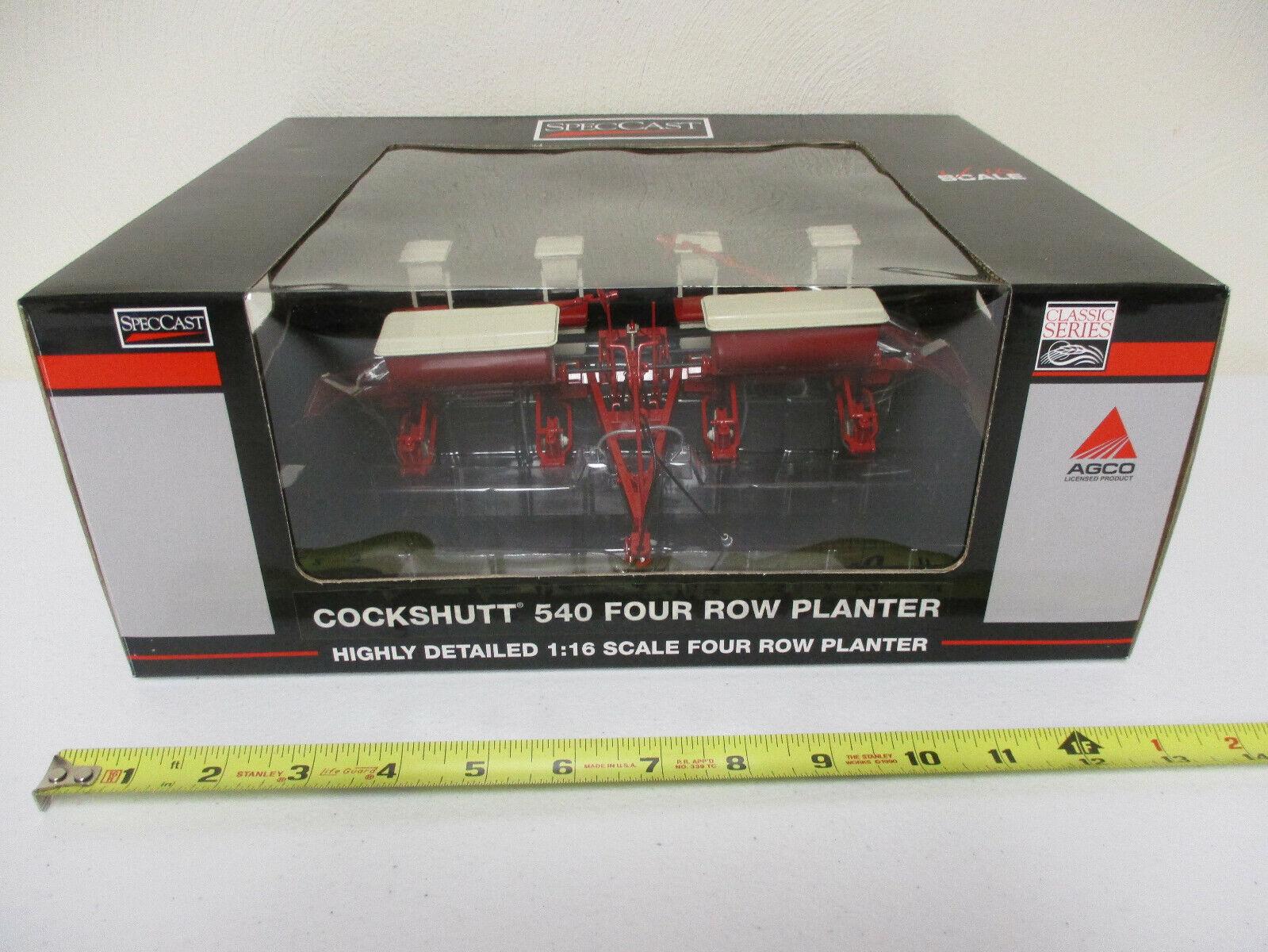 entrega de rayos Cockshutt 540 cuatro filas Plantador por Speccast escala 1 1 1 16th   soporte minorista mayorista