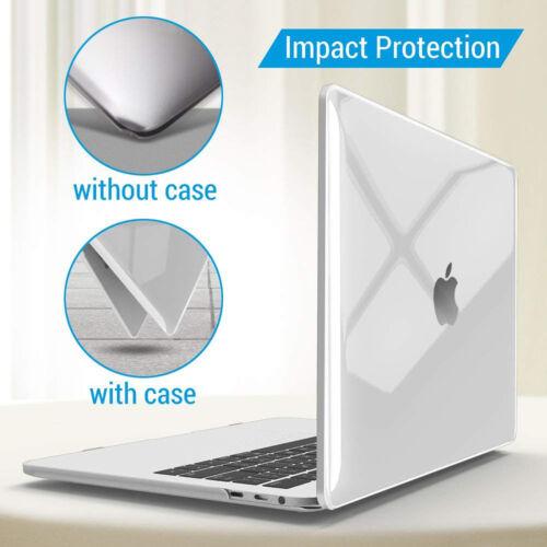 MacBook Pro 13 Case 2018 2017 2016 Release A1989//A1706//A1708 Soft-Touch Case