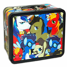 My Little Pony Bronies Group Metal Lunch Box NEW Toys Carrier Tote