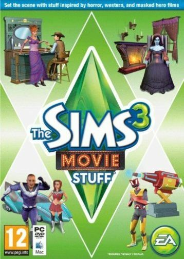 Sim 3 Movie Stuff  GAME NEW