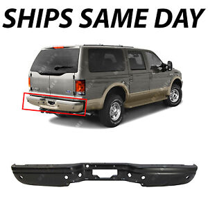 New Primered Complete Rear Steel Bumper Assembly For 2000 2005 Ford Excursion Ebay