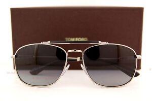 b2fcb84f9116a Brand New Tom Ford Sunglasses TF 0339 339 Marlon 14D Silver ...