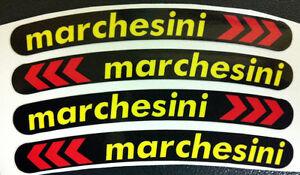 adesivi//adhesives//stickers//decal Striscie ruote cerchi moto colore ROSSO