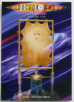 Postcard DOCTOR WHO CASSANDRA New Unused Colour THE LAST HUMAN 5 BILLION A.D