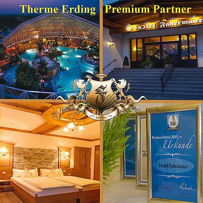 Therme Erding Gutschein mit einer Übernachtung im Hotel Faltermaier für 2 Pers.