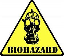 Biohazard Mask iron-on/sew-on cloth patch  (cv)