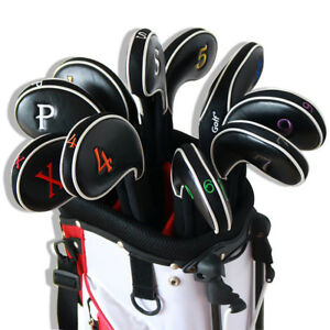 Craftsman-Golf-11pcs-4-Lw-Iron-Wedge-Head-Covers-for-Titleist-Taylormade-Ping