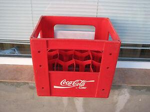 coca cola plastic crate value