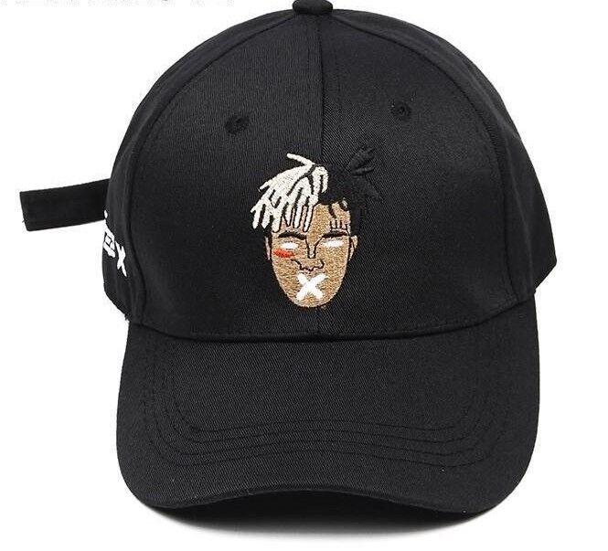 Rapper Xxxtentacion Snapback Hat Hip Baseball Hop Star Baseball Hip Cap Fit 09de57