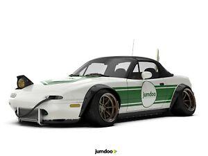 Mazda-MX-5-Miata-Fender-Bengalas-JDM-amplia-rueda-de-Kit-de-carroceria-Arch-120mm-4-un-Set