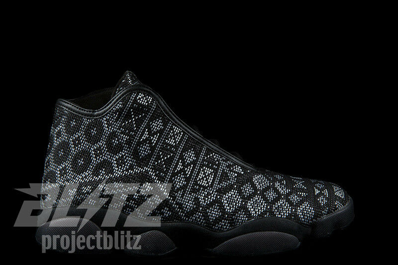 AIR JORDAN HORIZON PREMIUM PSNY PUBLIC SCHOOL Sz 8-14  BLACK WHITE 827432-002