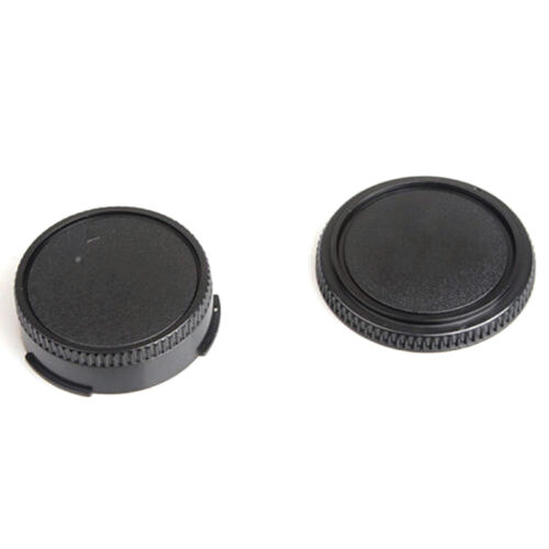 Tapa trasera del cuerpo 2x cubierta de la lente de la cámara CANON FD lente y pr