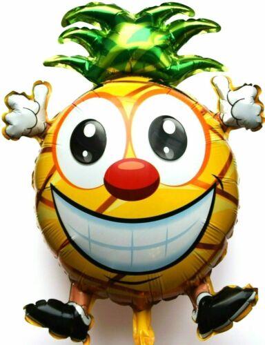 XL Helium Folienballon Ananas Frucht Garten Bio Saft Sommer Hochzeit Deko