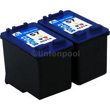 2x 57 für HP PSC 1315 1110 1210 1215 1350 2210 Deskjet 5550 Officejet 5510