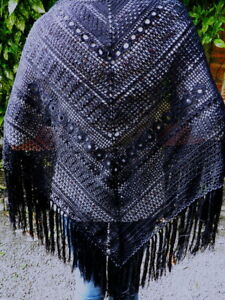 Doux Chale Etole Crochet Fait Main En France Creation Sylvette Raisonnier*