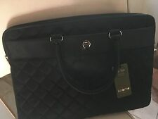 "NWT Knomo Avignon 15"" Slim Brief - with handles and detachable shoulder strap"
