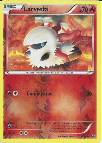 LARVESTA 16//98 REV HOLO POKEMON CARD XY ANCIENT ORIGINS