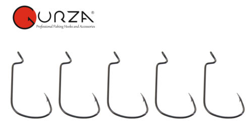 Gummifischhaken Raubfischhaken Gurza Worm 777-5 Offsethaken zum Spinnangeln