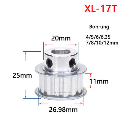 Zahnriemen 172XL 86 Zähne Stepper Riemenscheibe 436,88mm Umfang 10mm Breit