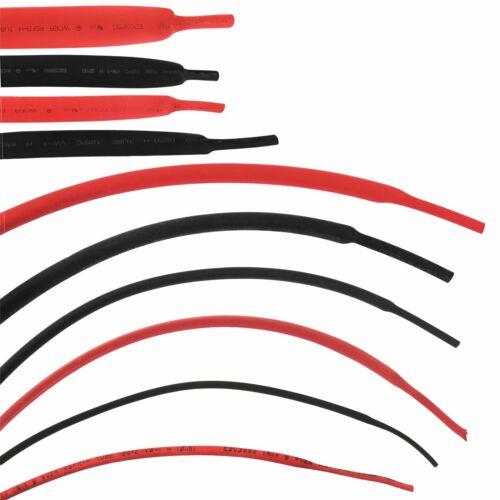 ELETTRICO Calore Strizzacervelli Tubazione Manicotto Impermeabile Nero//Rosso 50//100mm 1.5-16mm