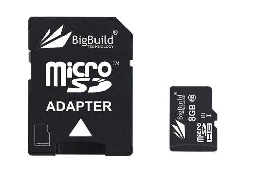 8GBMicro MicroSD Memory card for Prestigio Roadrunner 520i DashCam 80MB//s