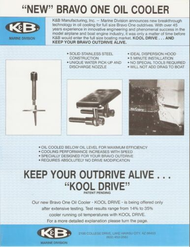 KOOL-DRIVE  Mercruiser Alpha II Drive Shower NEW Made in USA
