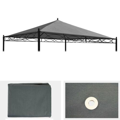 Ersatzbezug für Dach Pergola Pavillon Calpe 4x4m grau