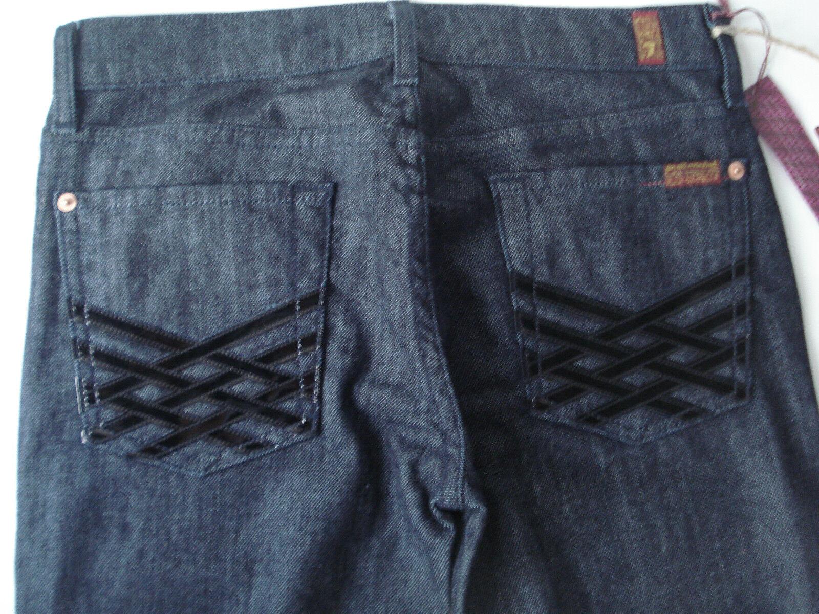 Seven for all Mankind SFAM Dojo Denim Hose Jeans Blau Gr 27 32