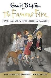 Five-Go-Adventuring-Again-Book-2-Famous-Five-Blyton-Enid-Good-Fast-Deli