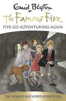 Five Go Adventuring Again, Blyton, Enid, Very Good Book